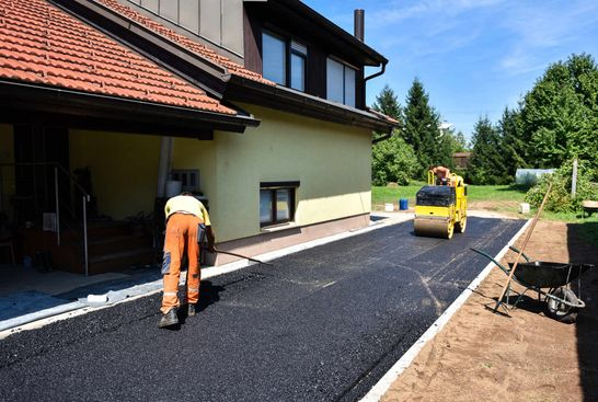 asphalt paving for home
